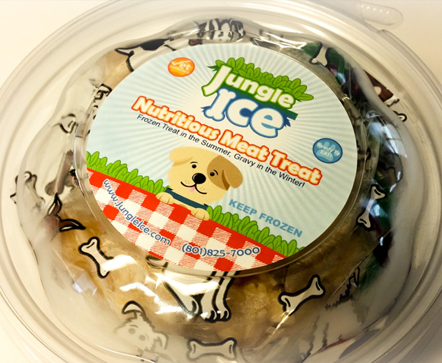 Jungle Ice Frozen Pet Treats
